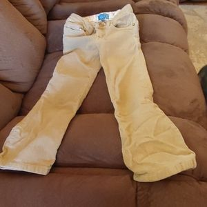 Childrens Place size 5 girls stretch pants. Tan